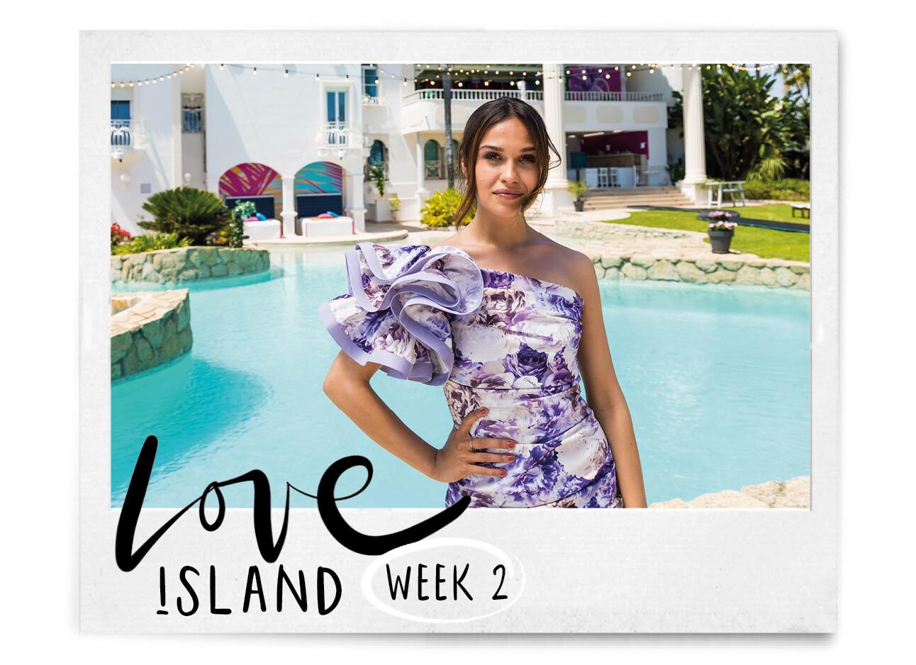 Holly Brood bij Love Island week 2