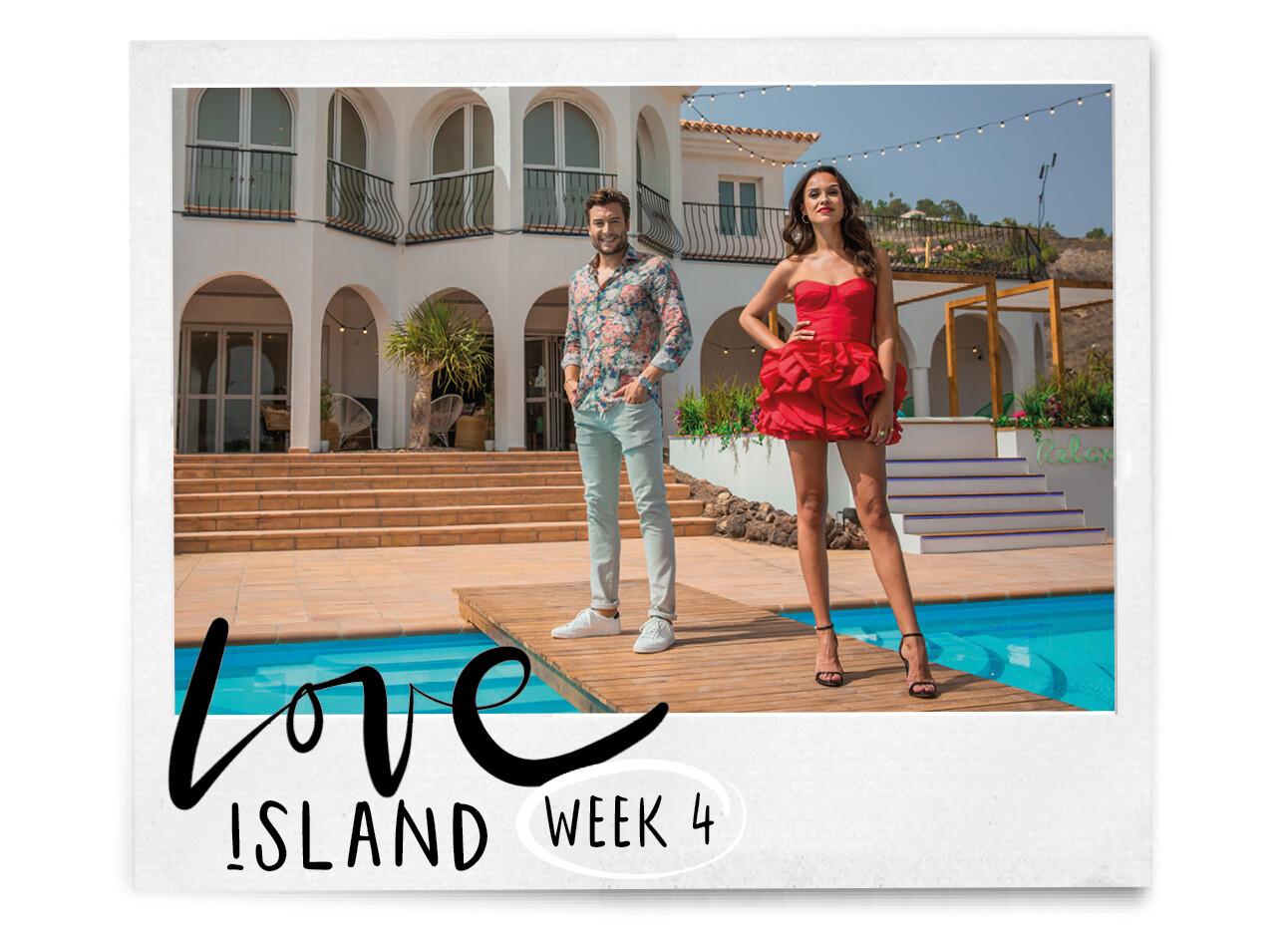 Holly en Victor van Love Island