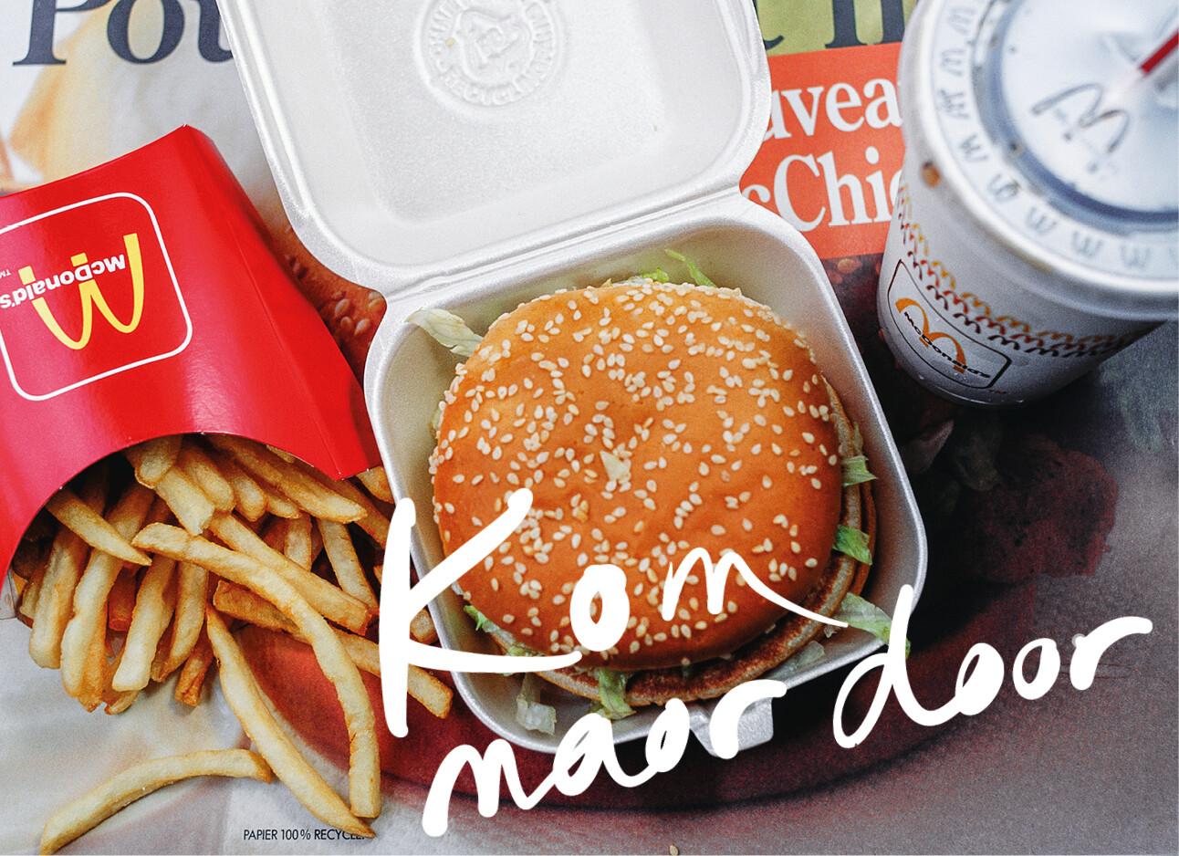 Mac Donalds vegan burger
