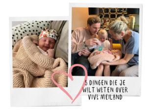 Maxime Meiland is bevallen