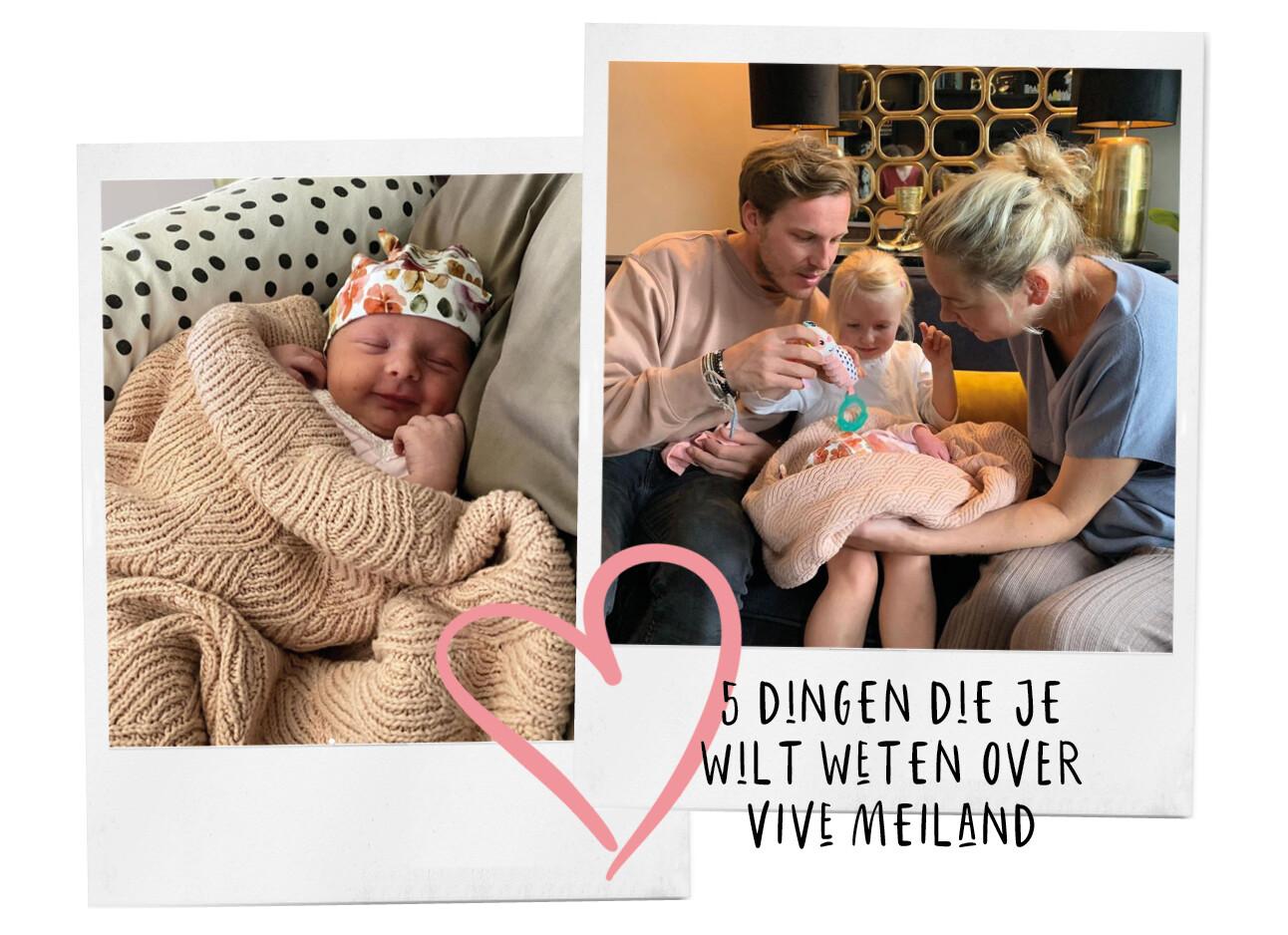 Maxime Meiland is bevallen van Vivé