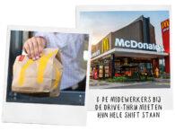 10 geheimen die McDonald's medewerkers je niet vertellen