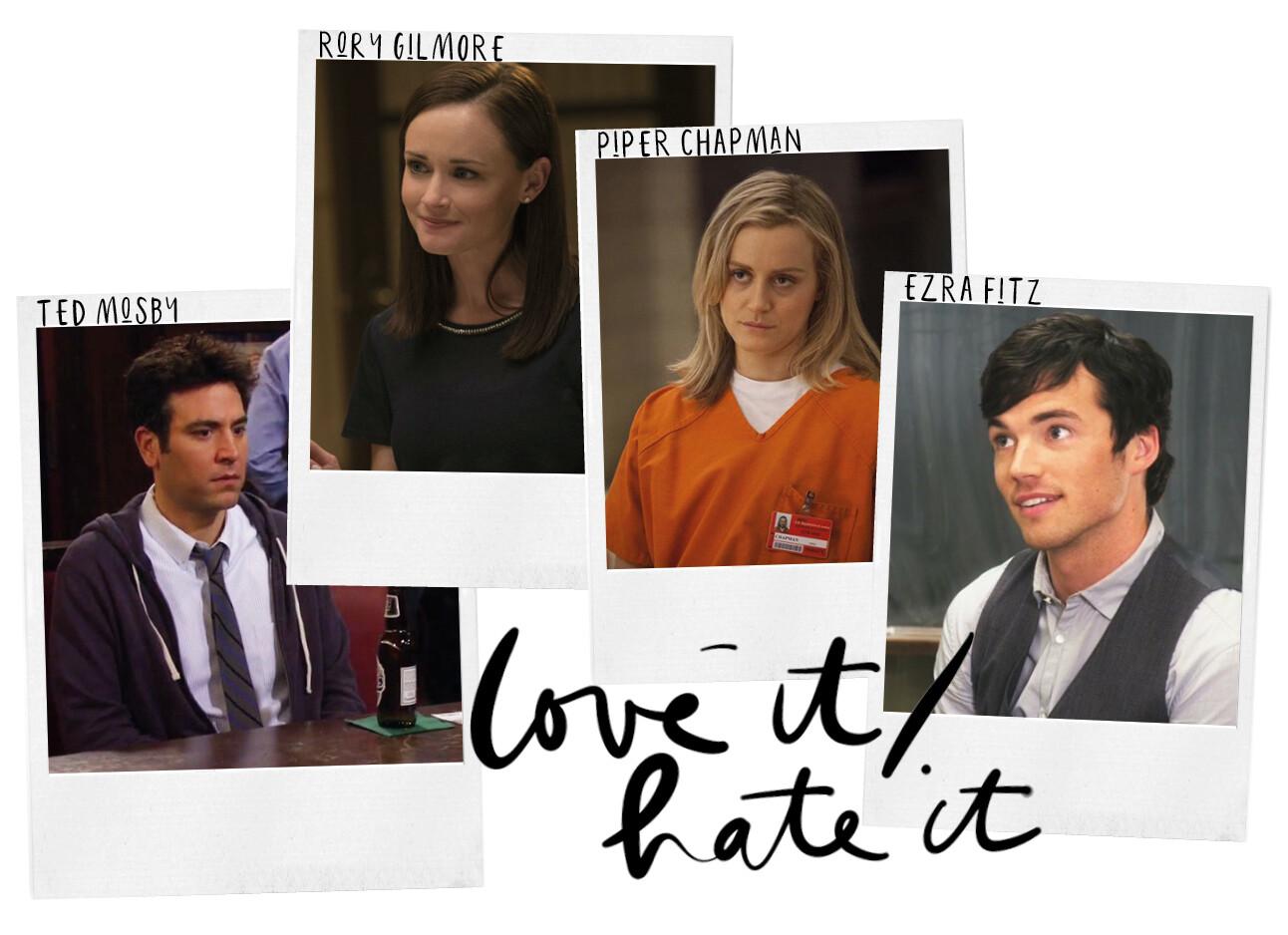 TV personages die we leuk vinden maar ook weer niet