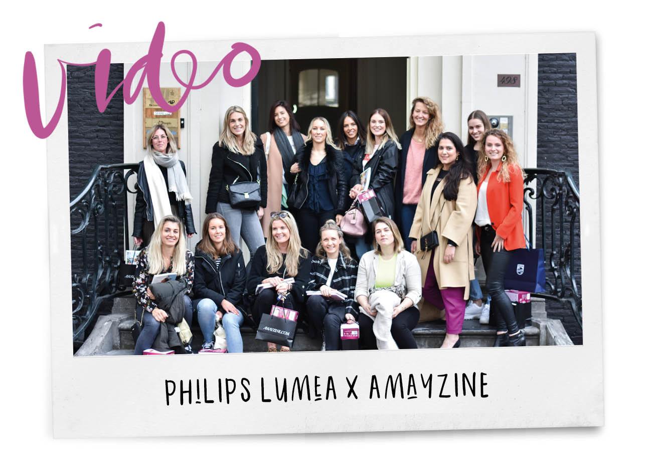 Groep vrouwen bij Philips Lumea event Spot