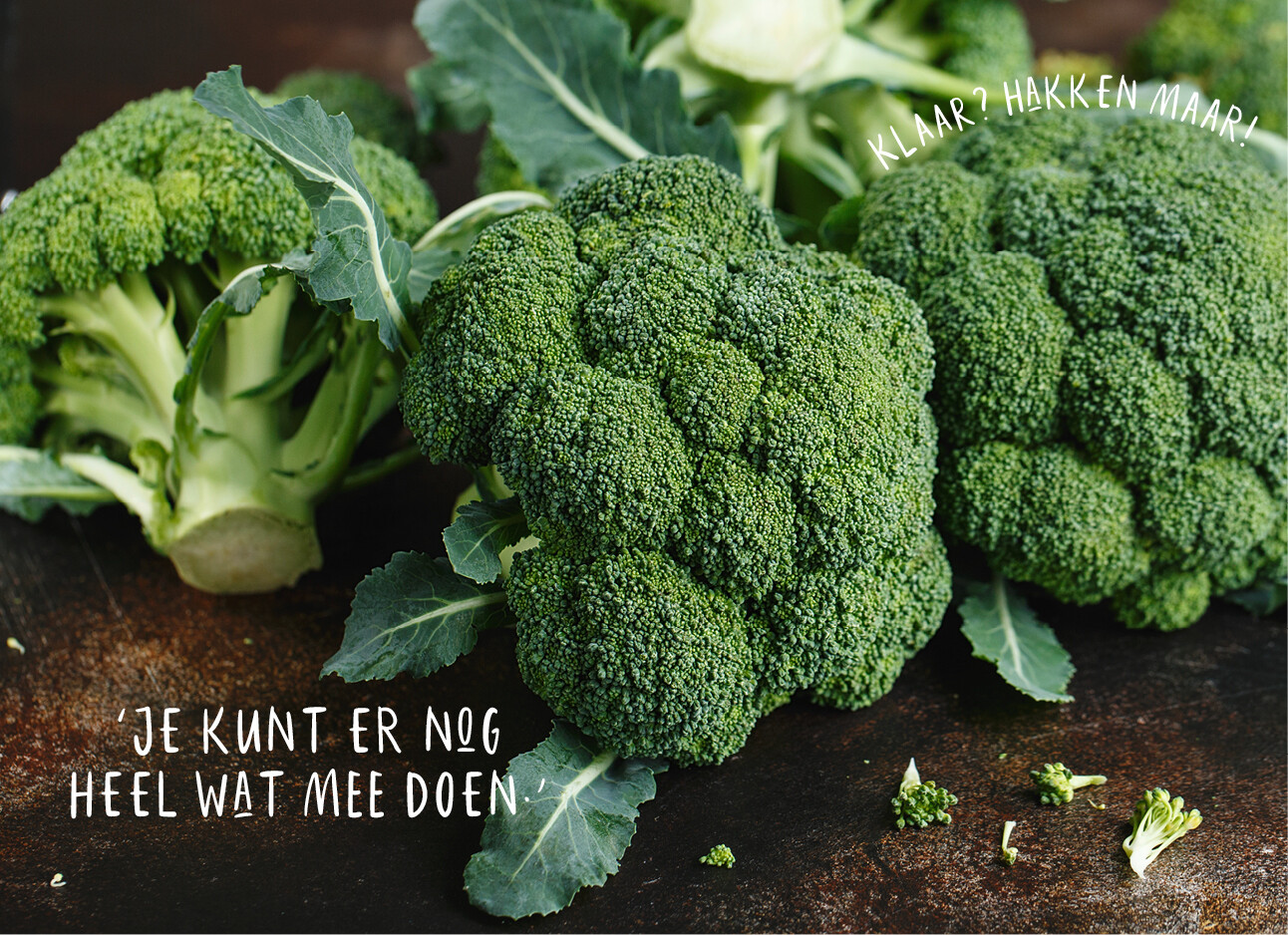 broccoli stronken