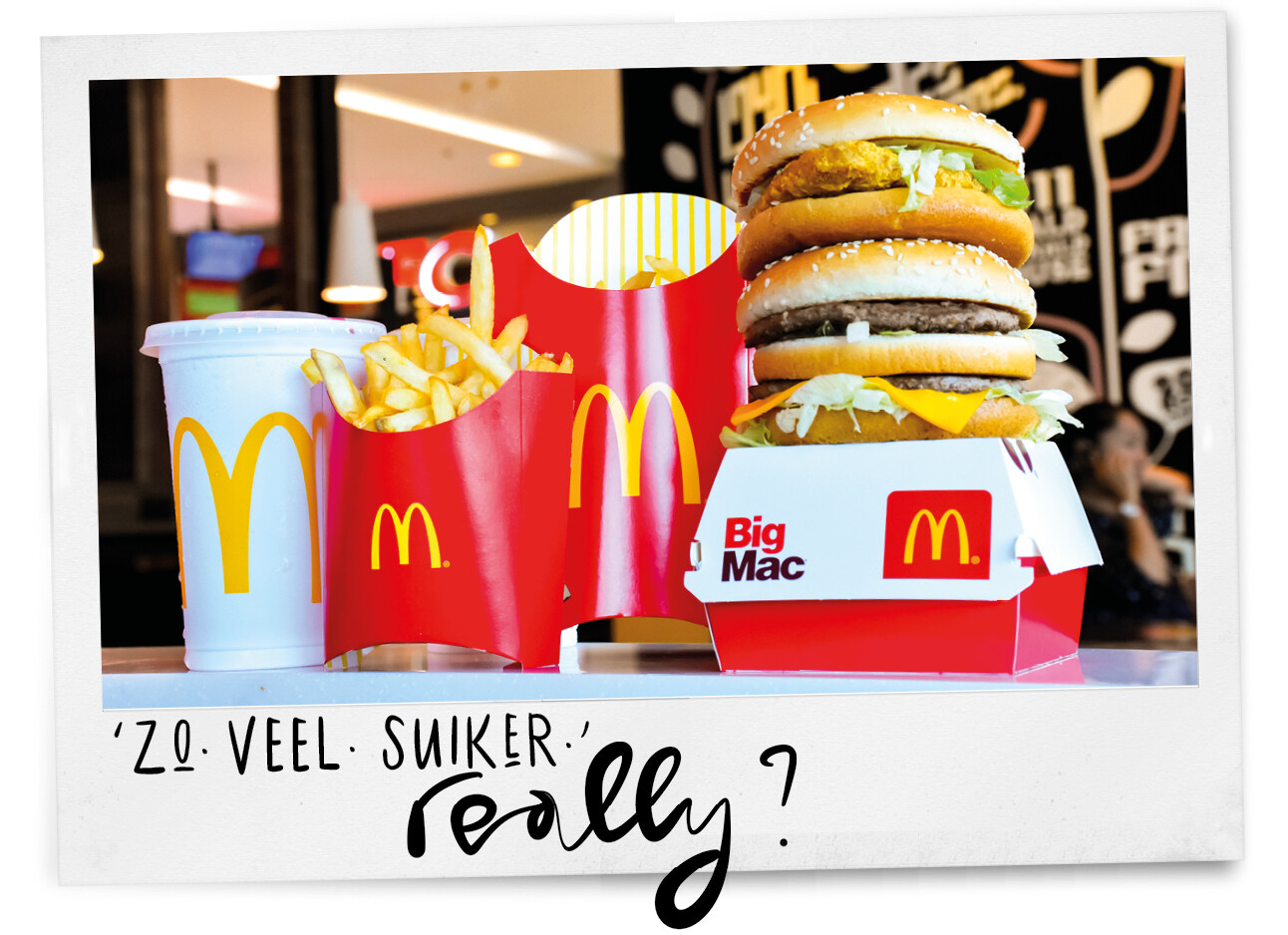Caloriebom McDonalds