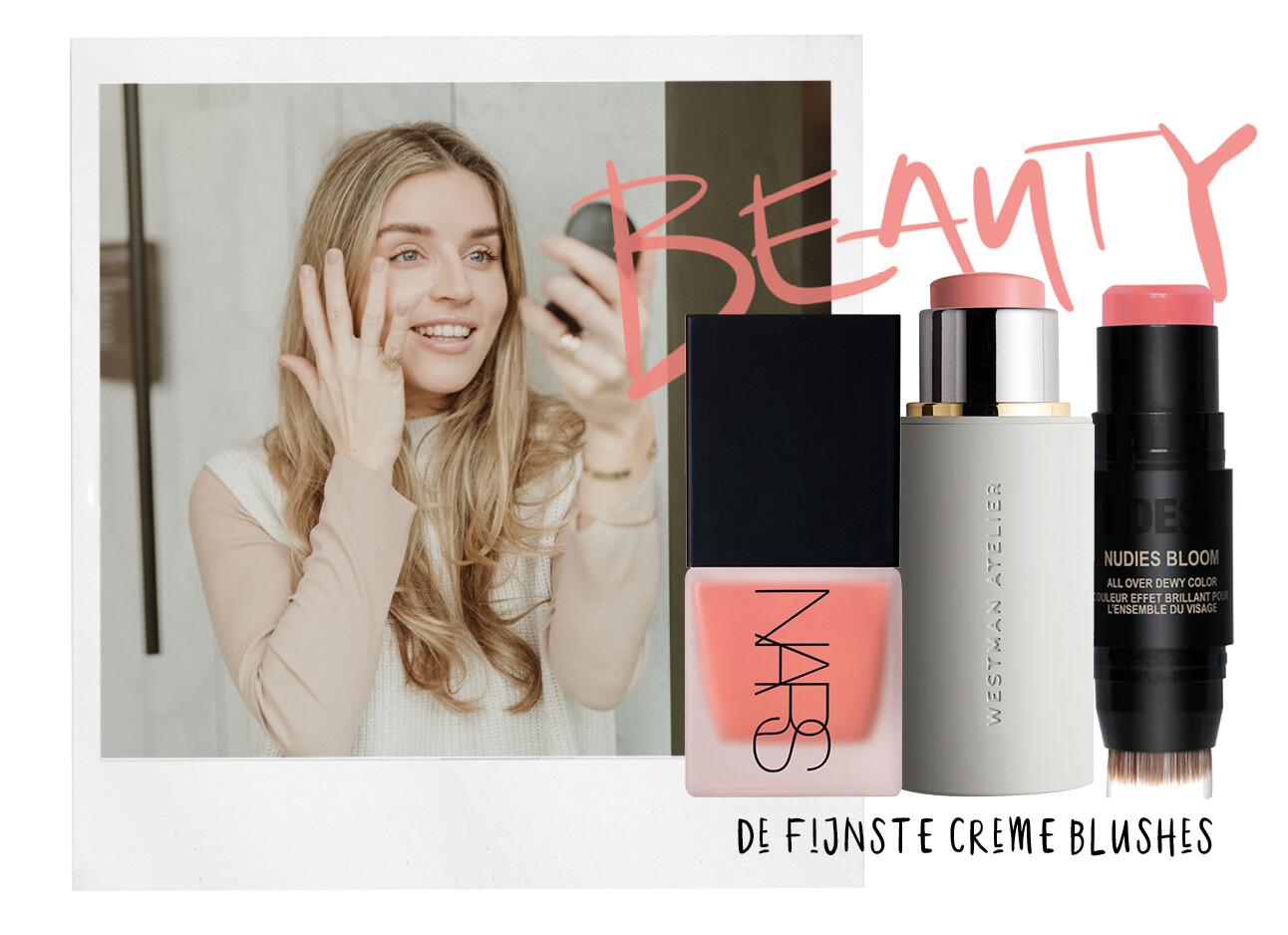 creme blush beauty items make-up lotte van scherpenzeel Nars Westman