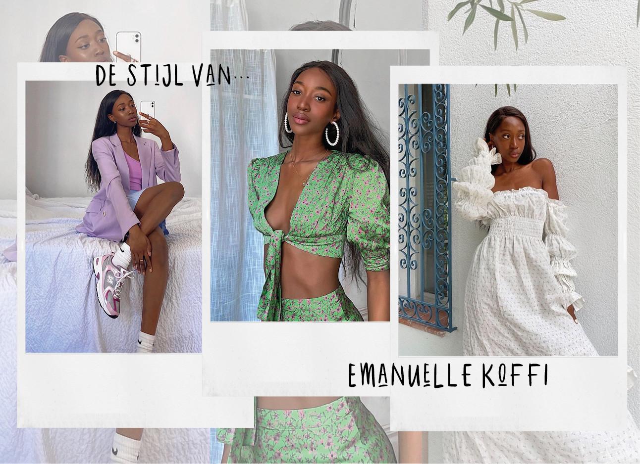 Om vandaag nog te copy-pasten De stijl van… Emmanuelle Koffi