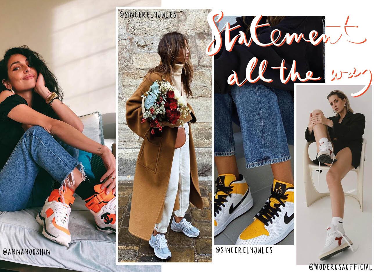 De vijf grootste sneakertrends van 2021