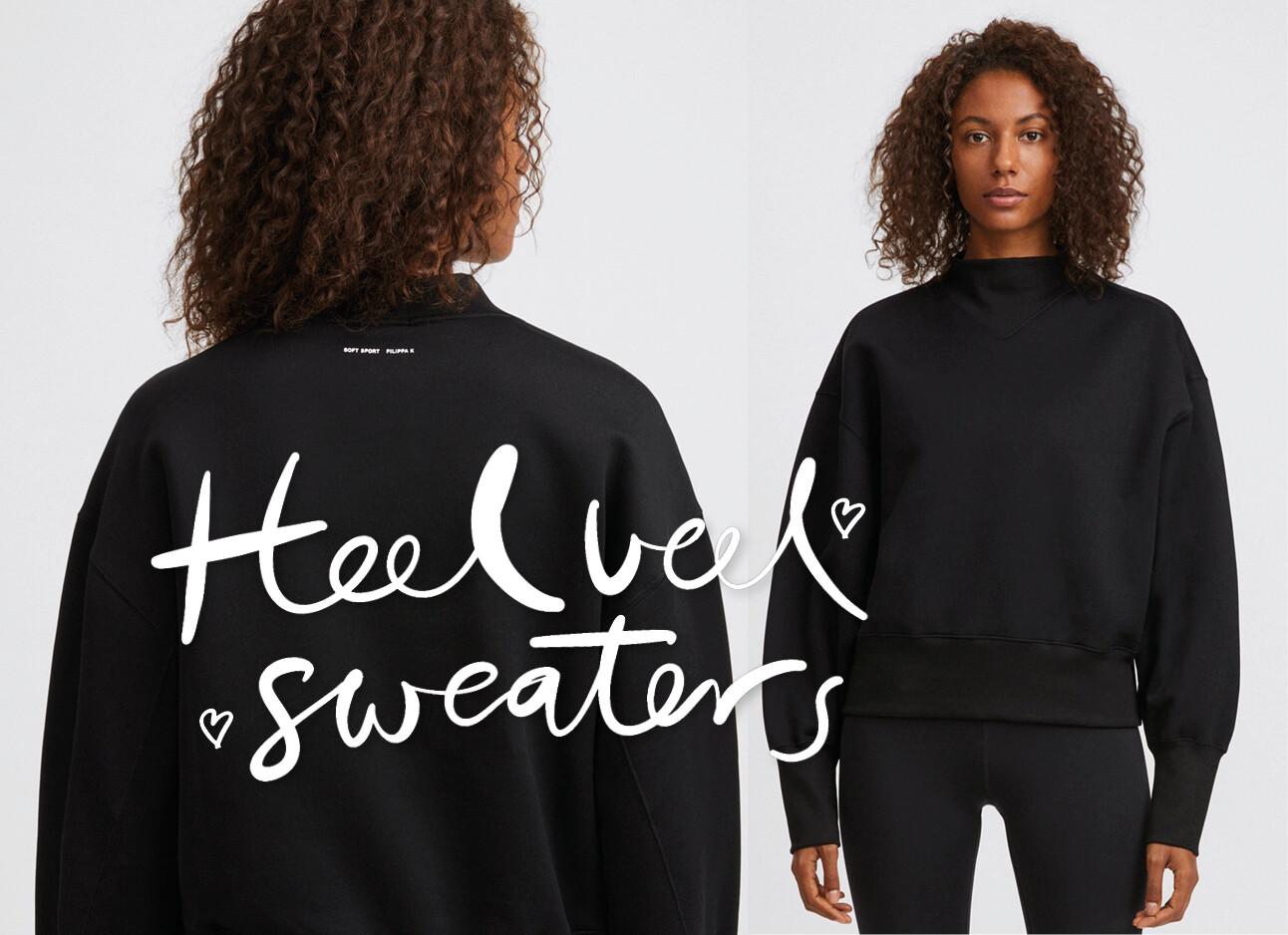 vrouw in Filippa K sweater