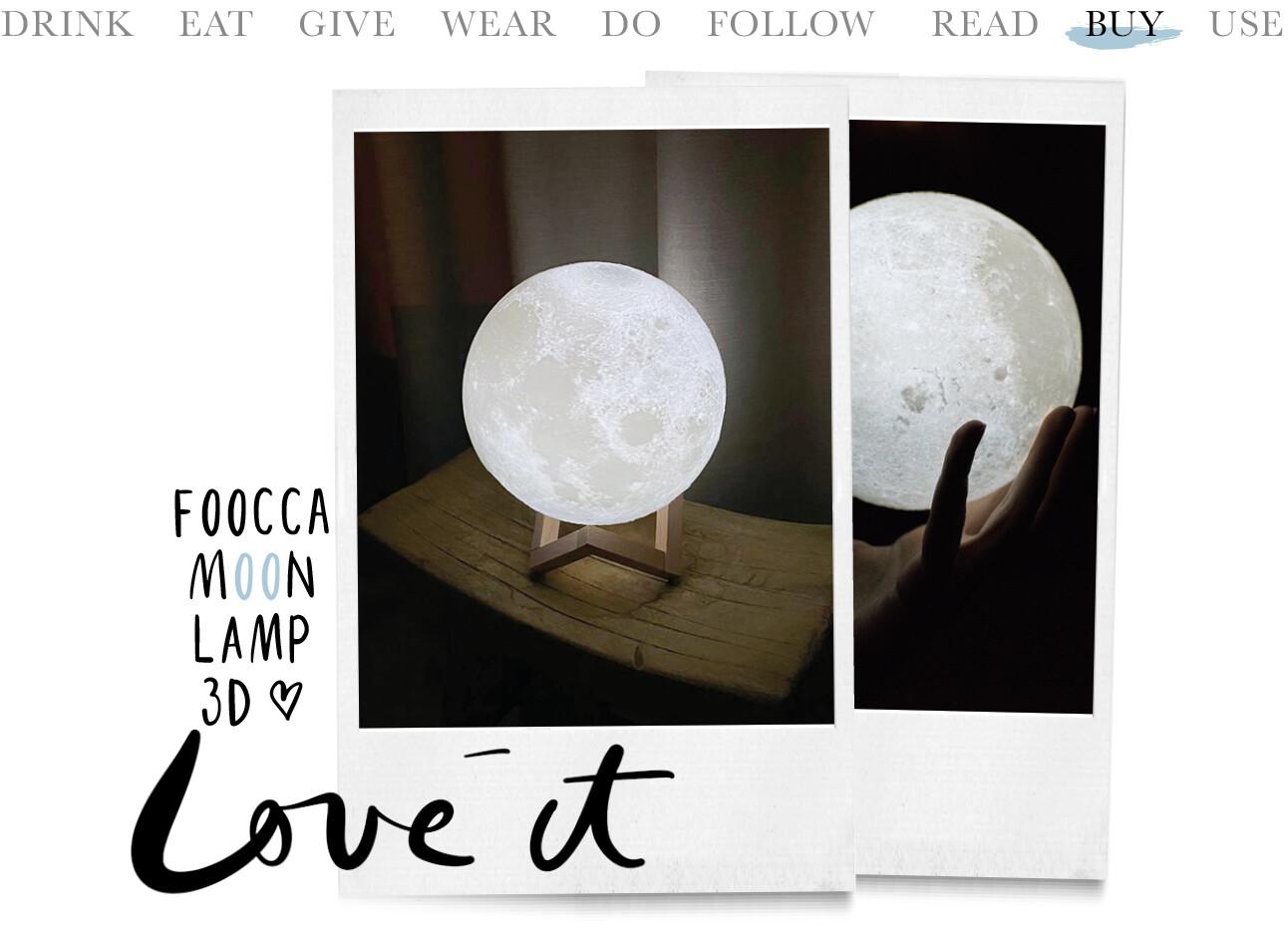foocca moonlamp 3D