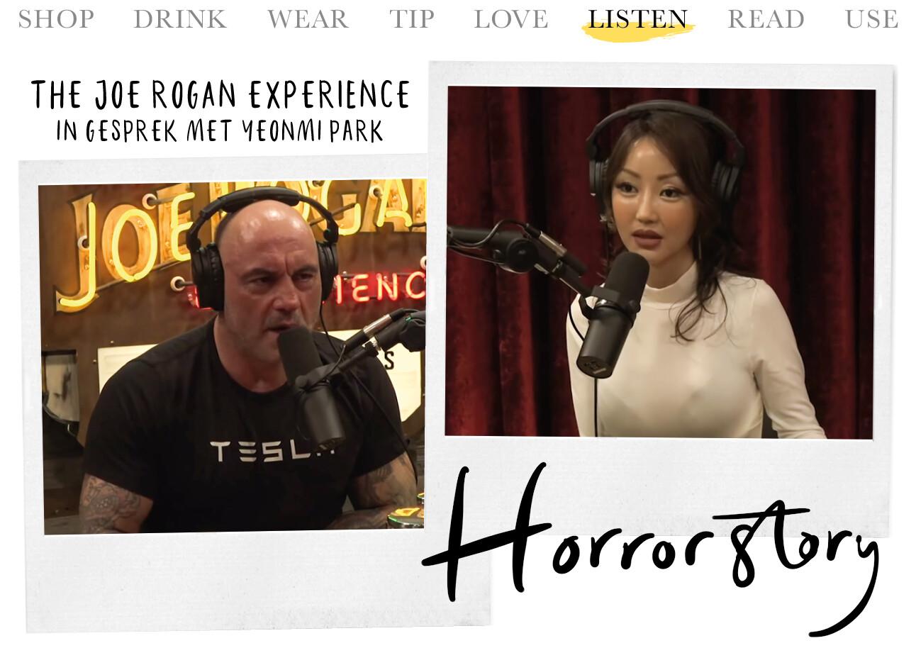podcast Joe Rogan met yeonmi park