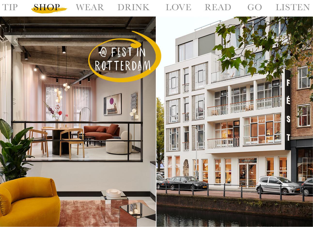 Today we shop at FÉST Rotterdam