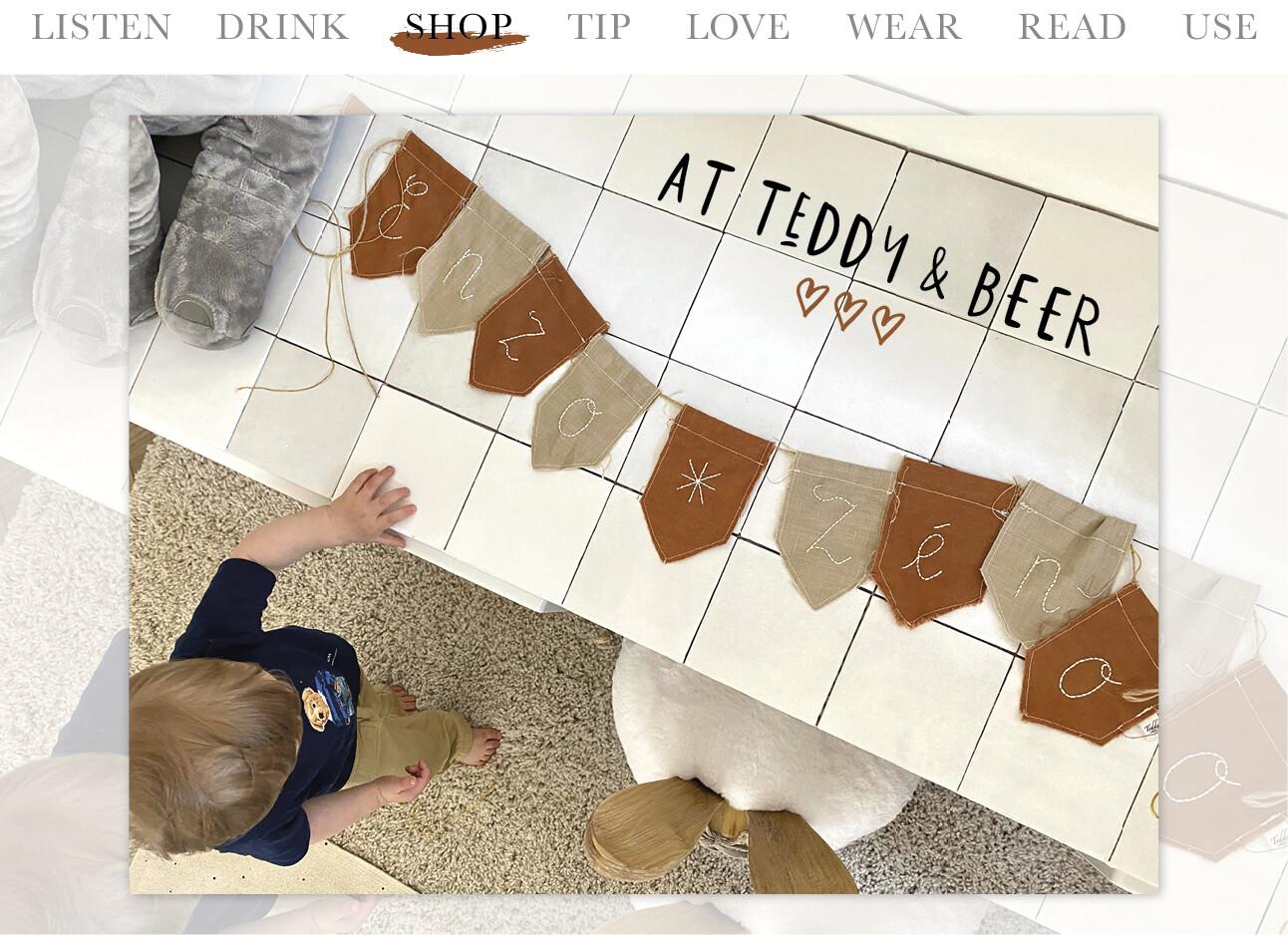 Today we shop at teddy en beer