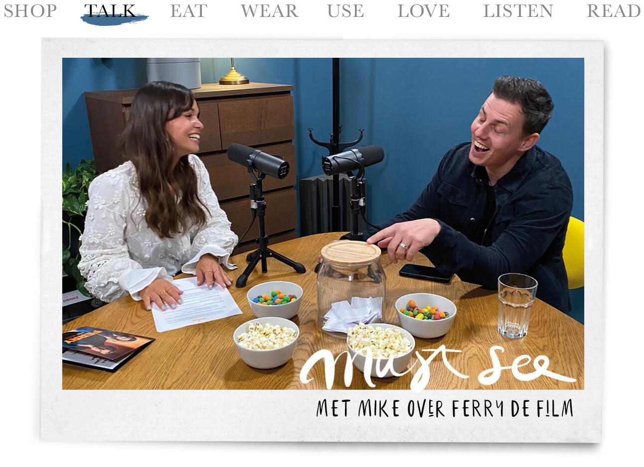 Today we talk met Mike over Ferry de Film