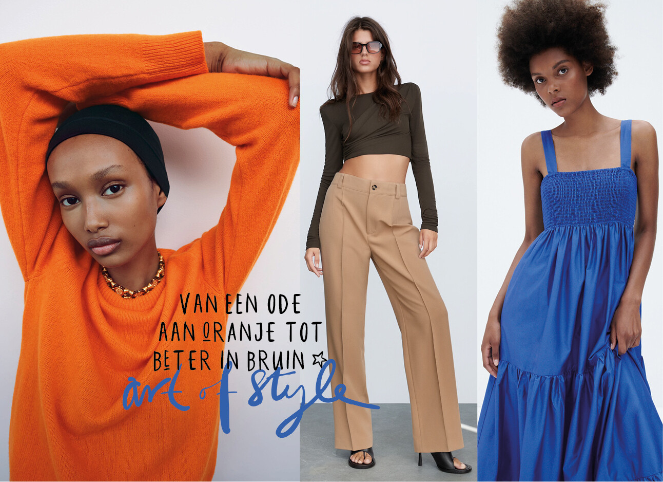 Trendkleuren van de Zara