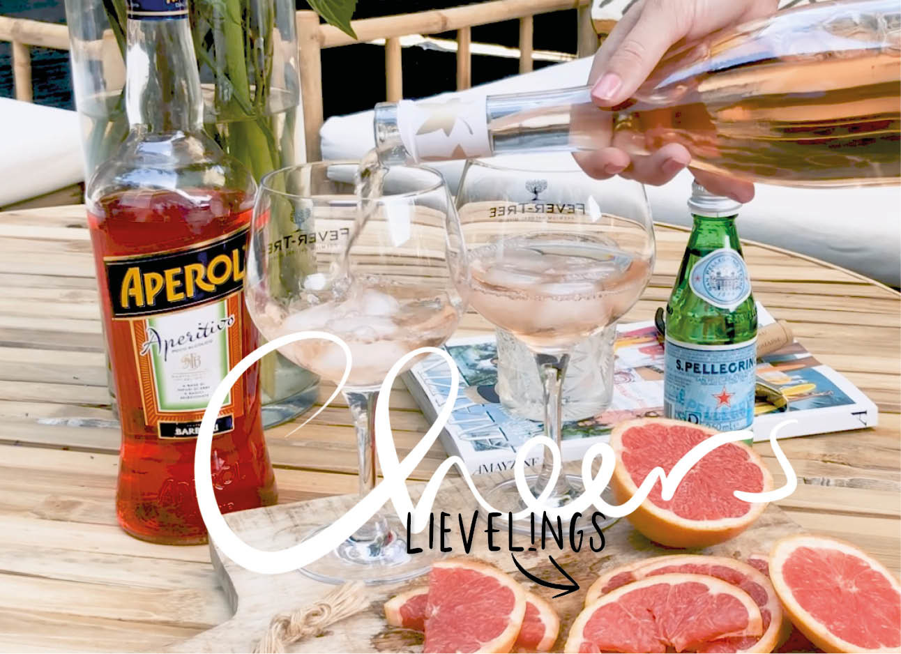 Rosé Aperol Spritz is wat je wil dit weekend
