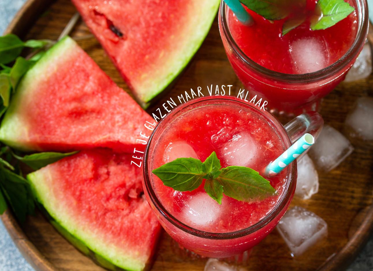 watermeloen mimosa's