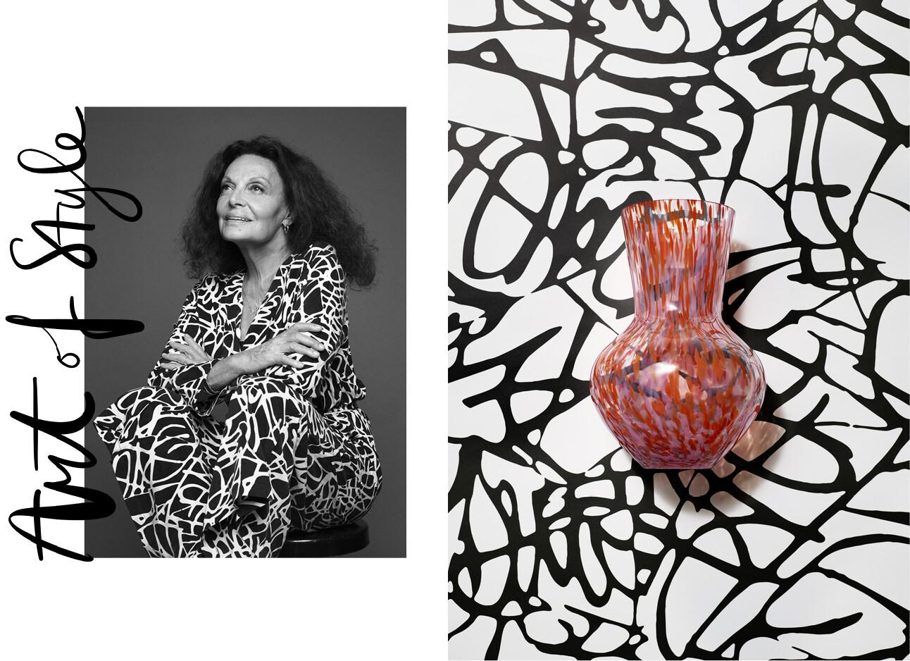 H&M gaat samenwerken met Diane von Furstenberg