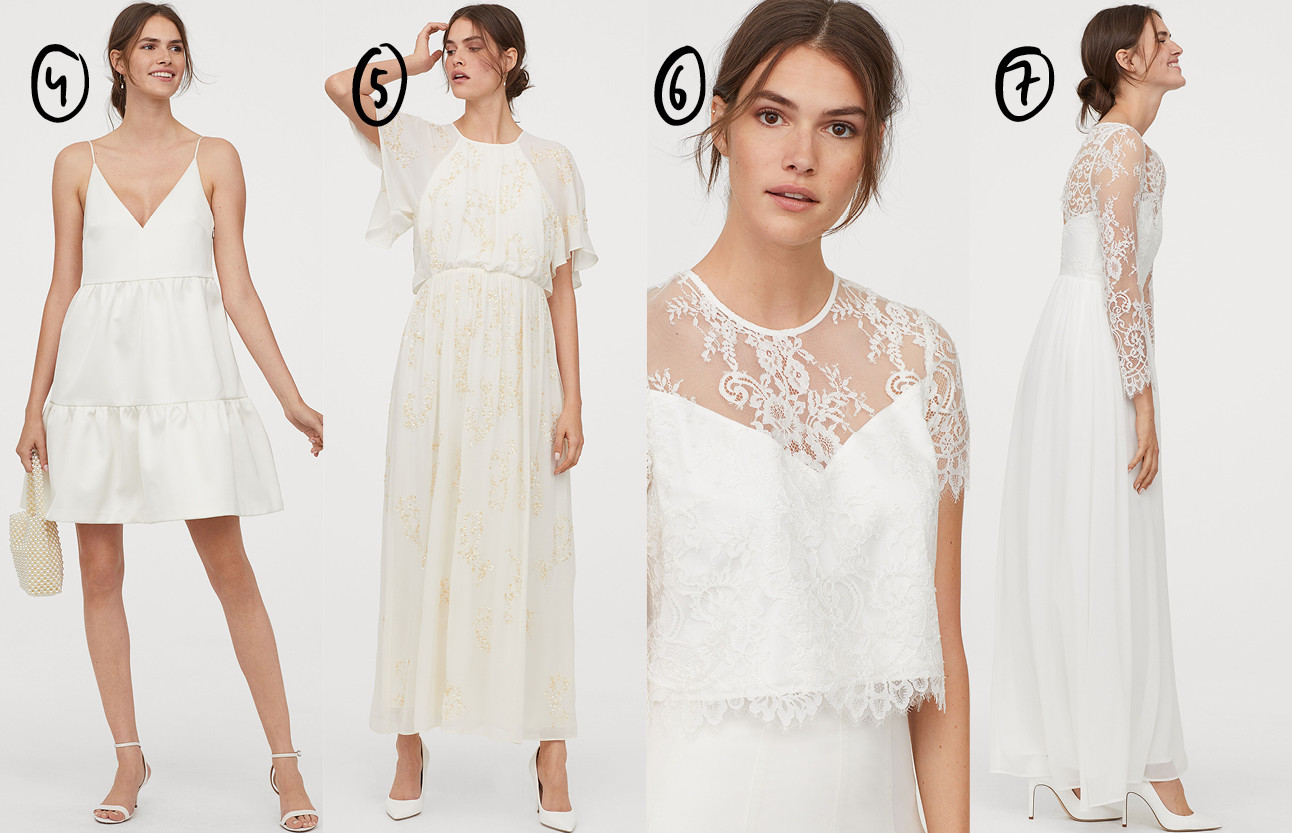 De H&M wedding collectie