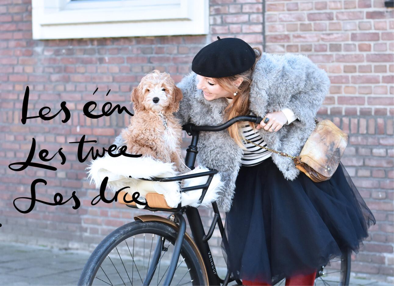 May met Monti op de fiets