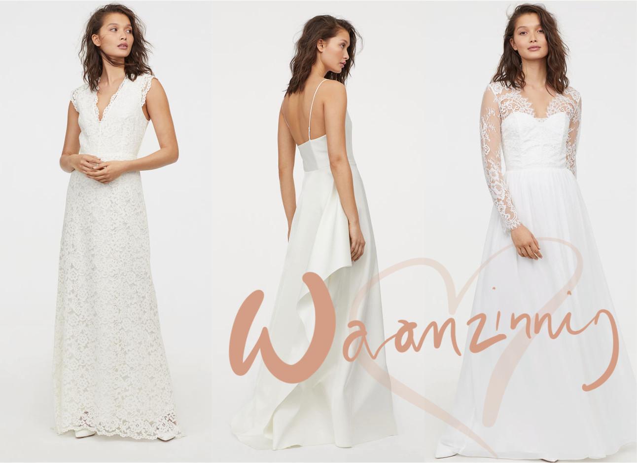 bruidsjurken van H&M nieuwe collectie