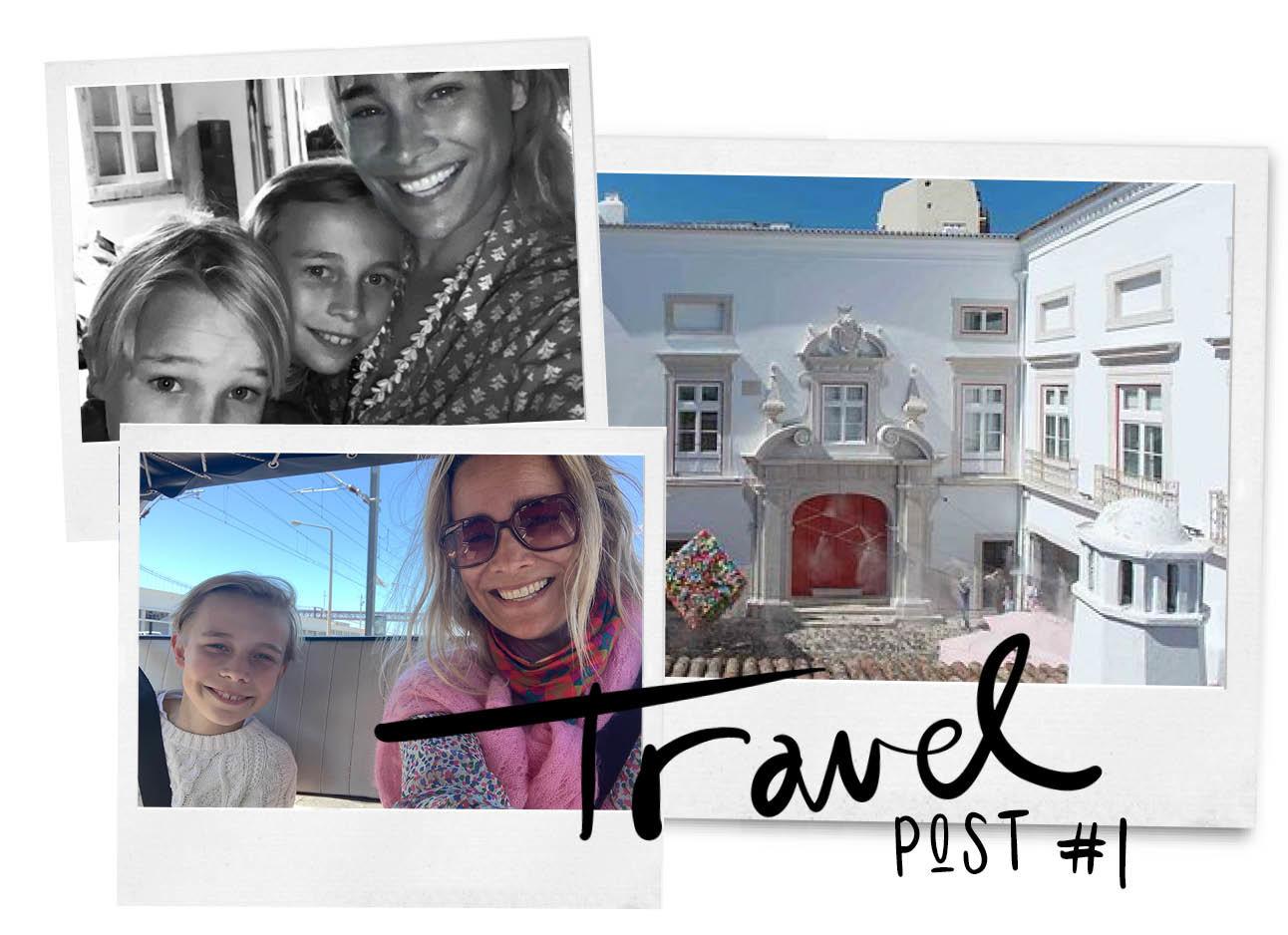 jetteke van lexmond reist door portugal met haar twee zoons dean en june