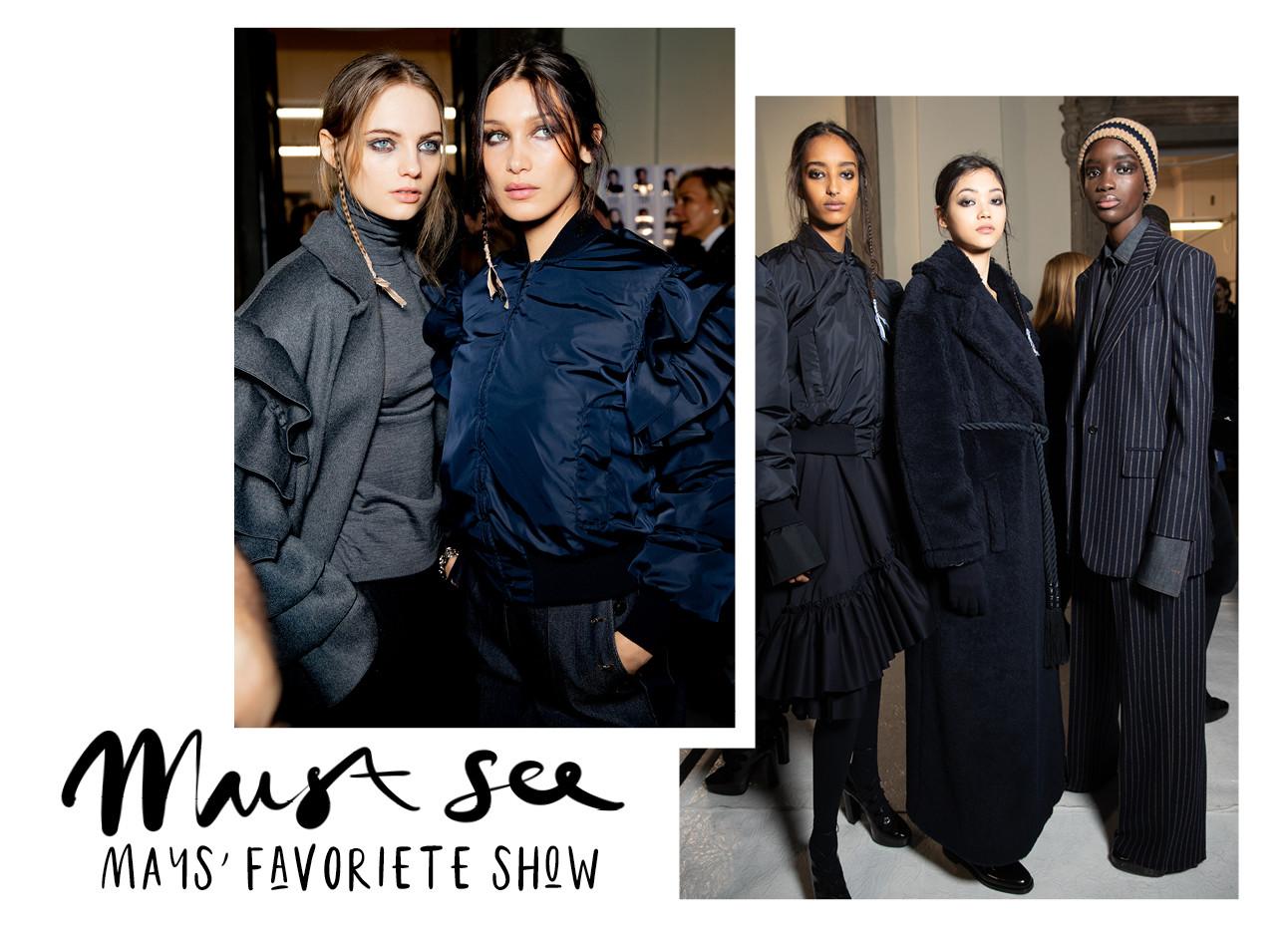 Max Mara fashionshow