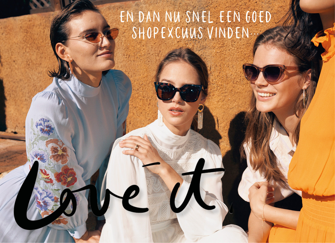 beeld van &otherstories zonnebrillen, zomerjurken, wedding collectie, love it