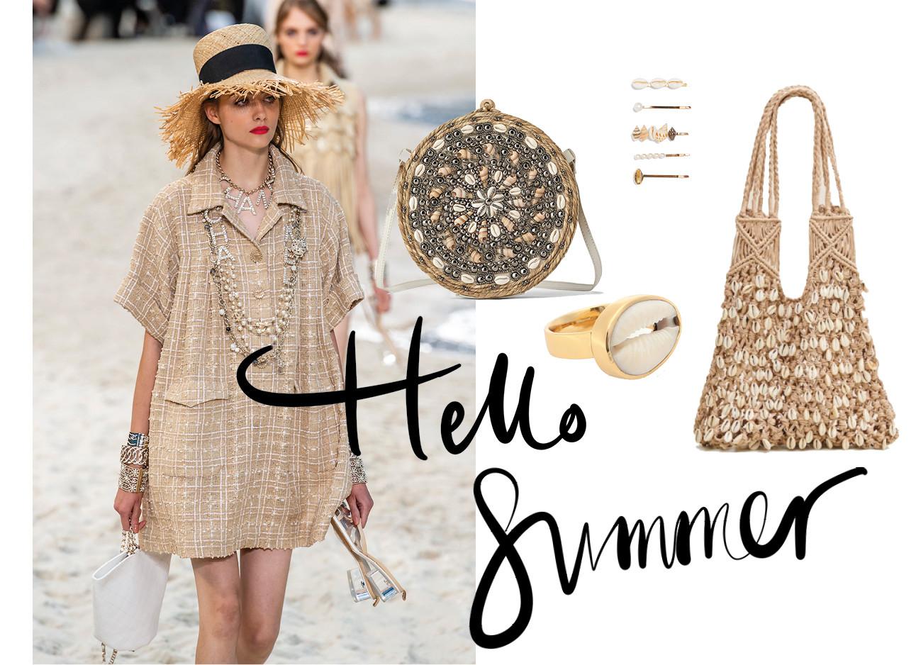 hello summer, schelp accessoires