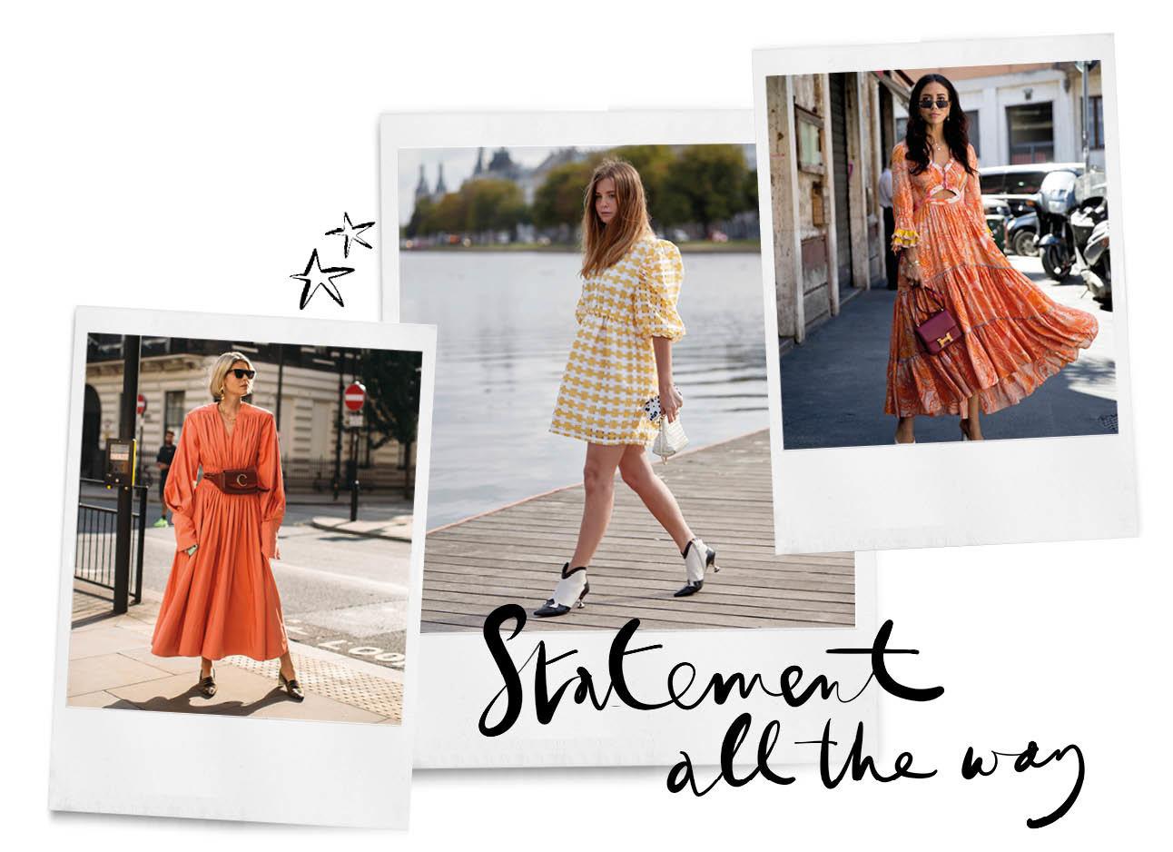 streetstyle looks vrouwen zomers jurken