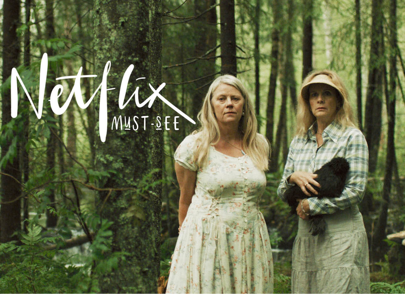 2 vrouwen in het bos