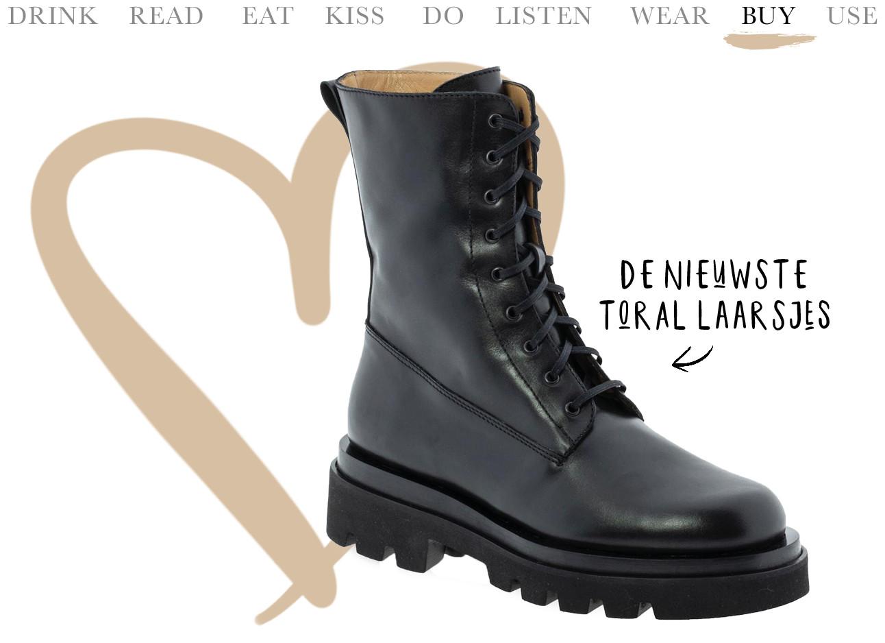 Nieuwe zwarte Toral boots