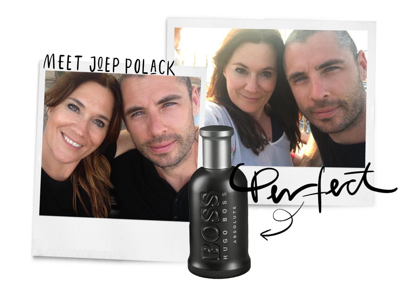 Hugo Boss battle parfum Joep Polack Danielle Heerkens