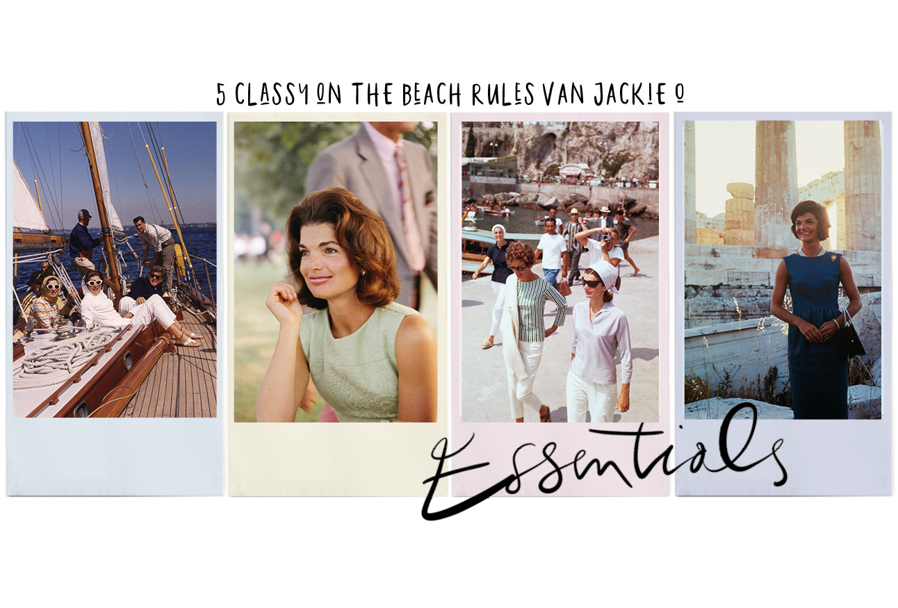 5 classy on the beach rules van Jackie O