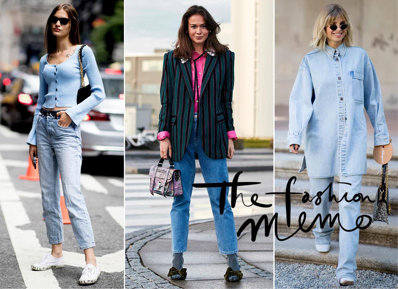 Skinny jeans trends fashion week