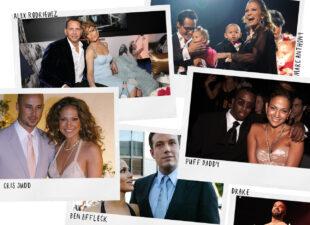 Het liefdesleven van J-Lo in vogelvlucht