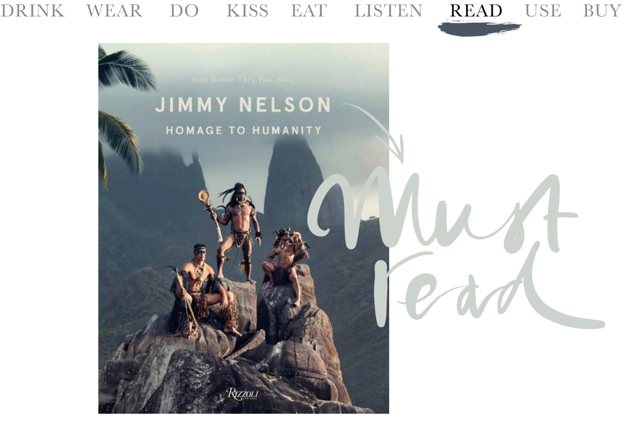 Jimmy Nelson book