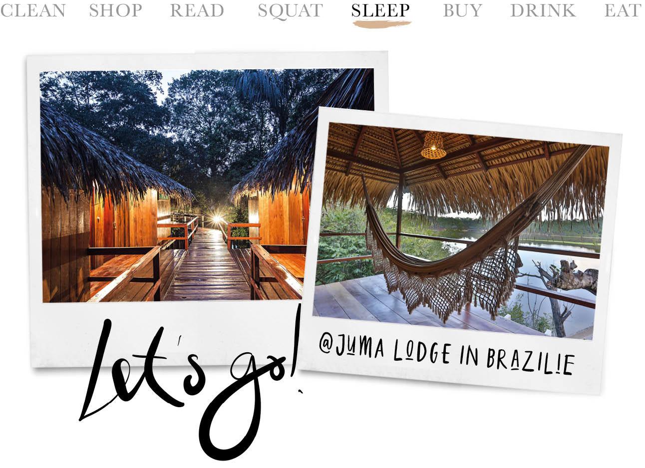 Tropische foto huma logde brazilië