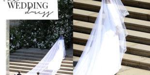 De trouwjurk van Meghan Markle