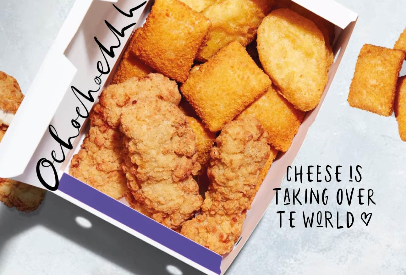 Ontzettende lifegoals: er komen mini kaassoufflés bij McDonalds
