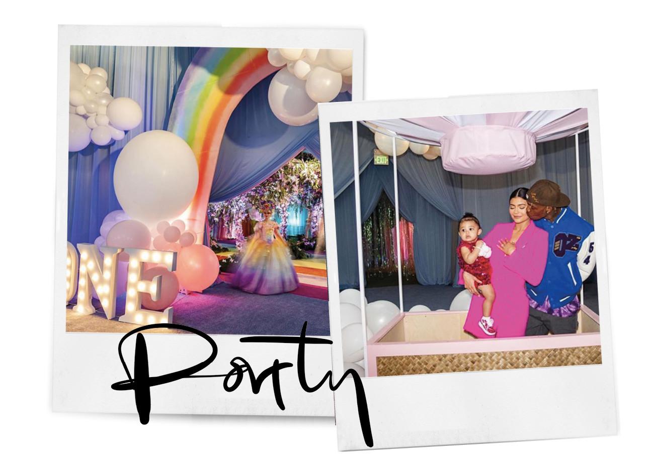 eerste verjaardagsfeestje van stormi webster jenner