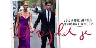 Topmodel Karlie Kloss na drie maanden getrouwd in déze jurk