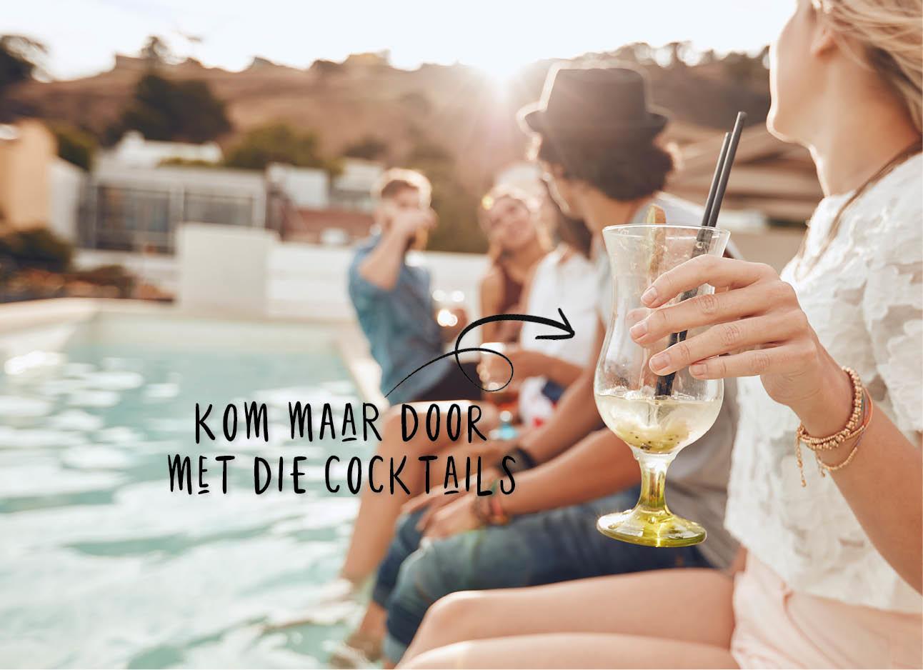 drinken vakantie vrienden