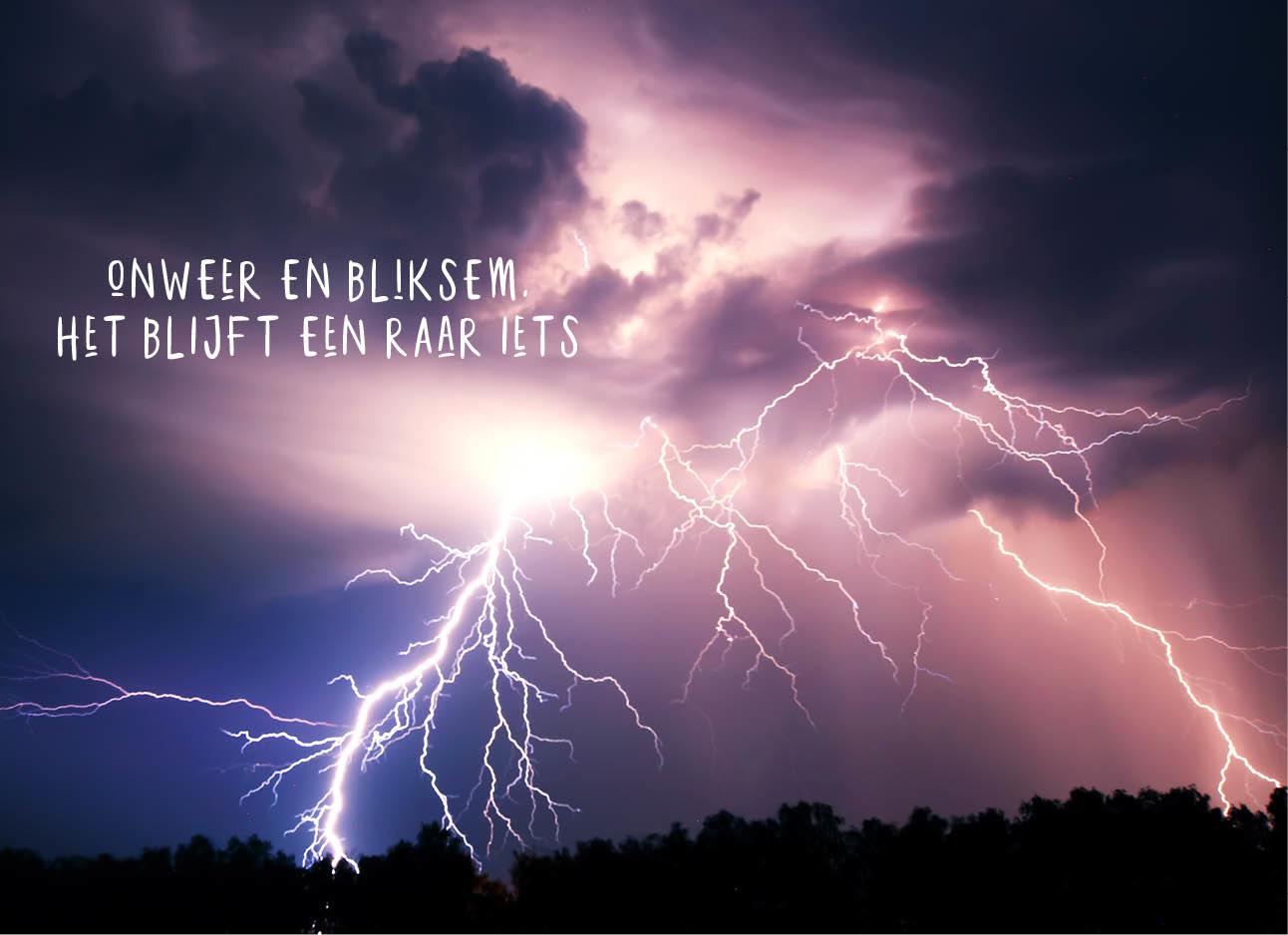 onweer, lichtflits