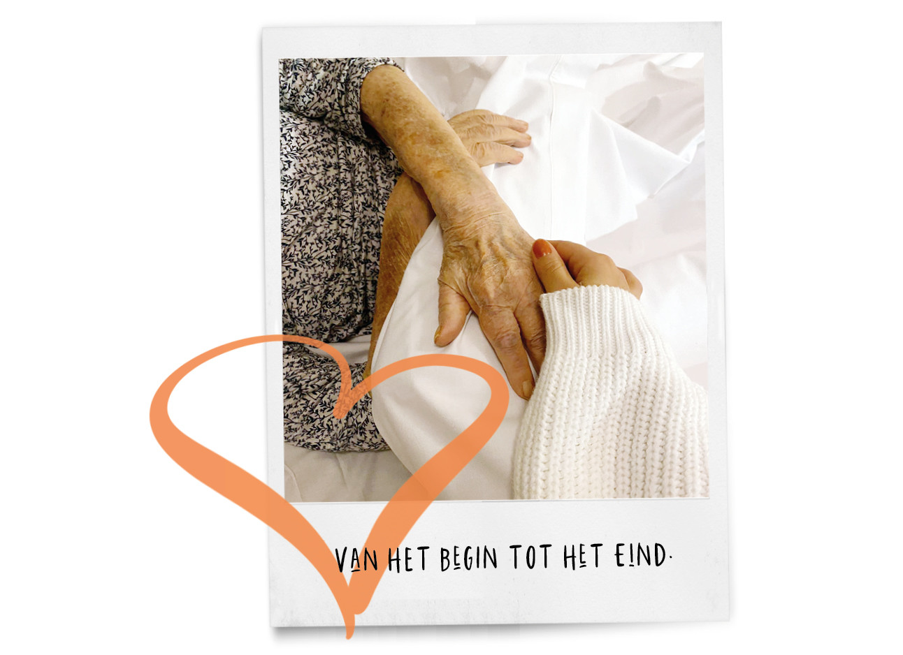 kiki en oma handen vast houden