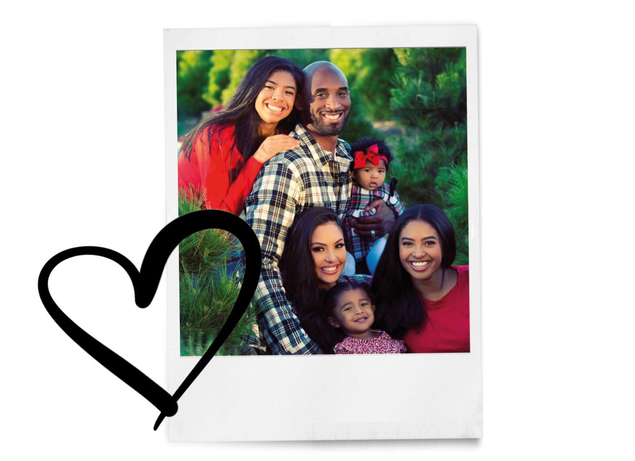 beeld van de familie bryant
