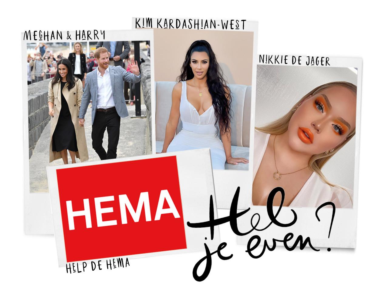 Hema, kim kardashian west, nikki de jager, meghan markle