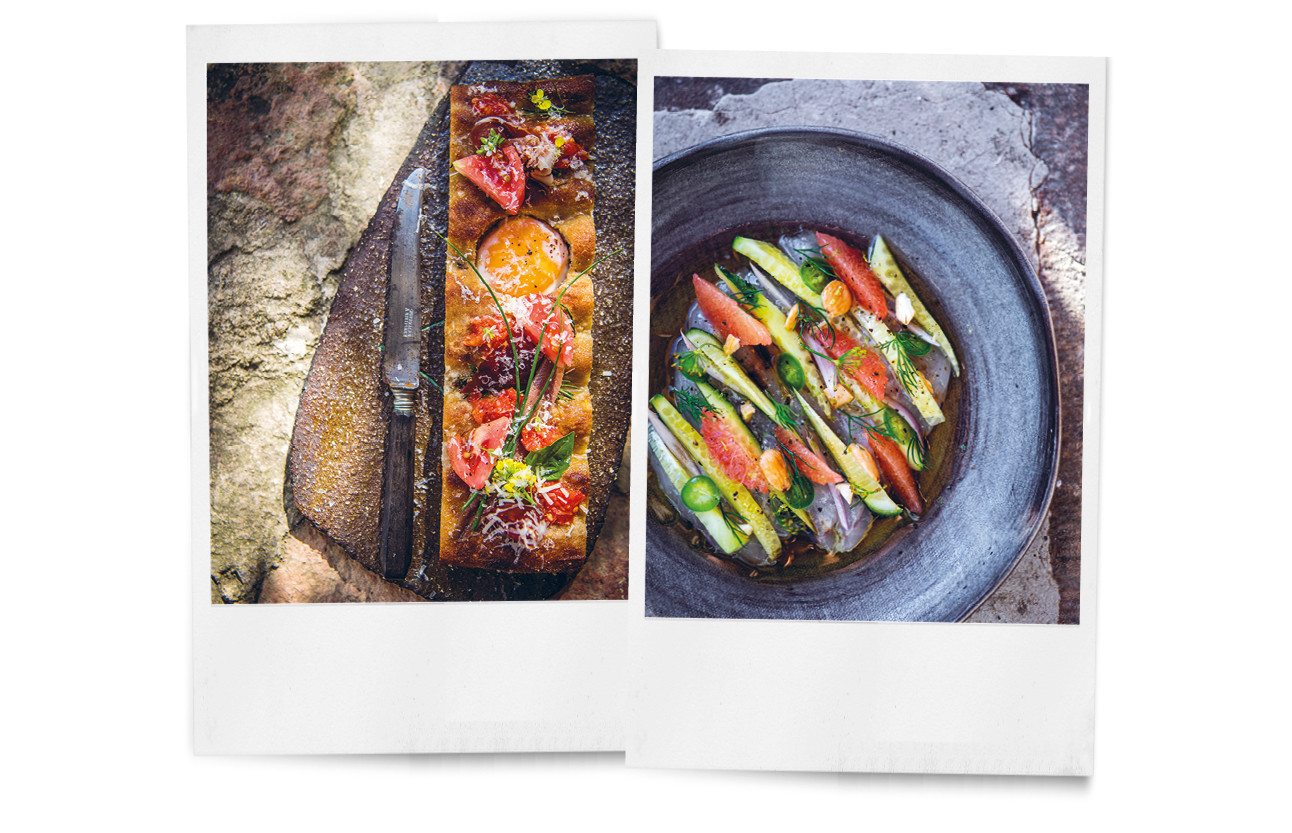 beelden van het kookboek van sergio herman