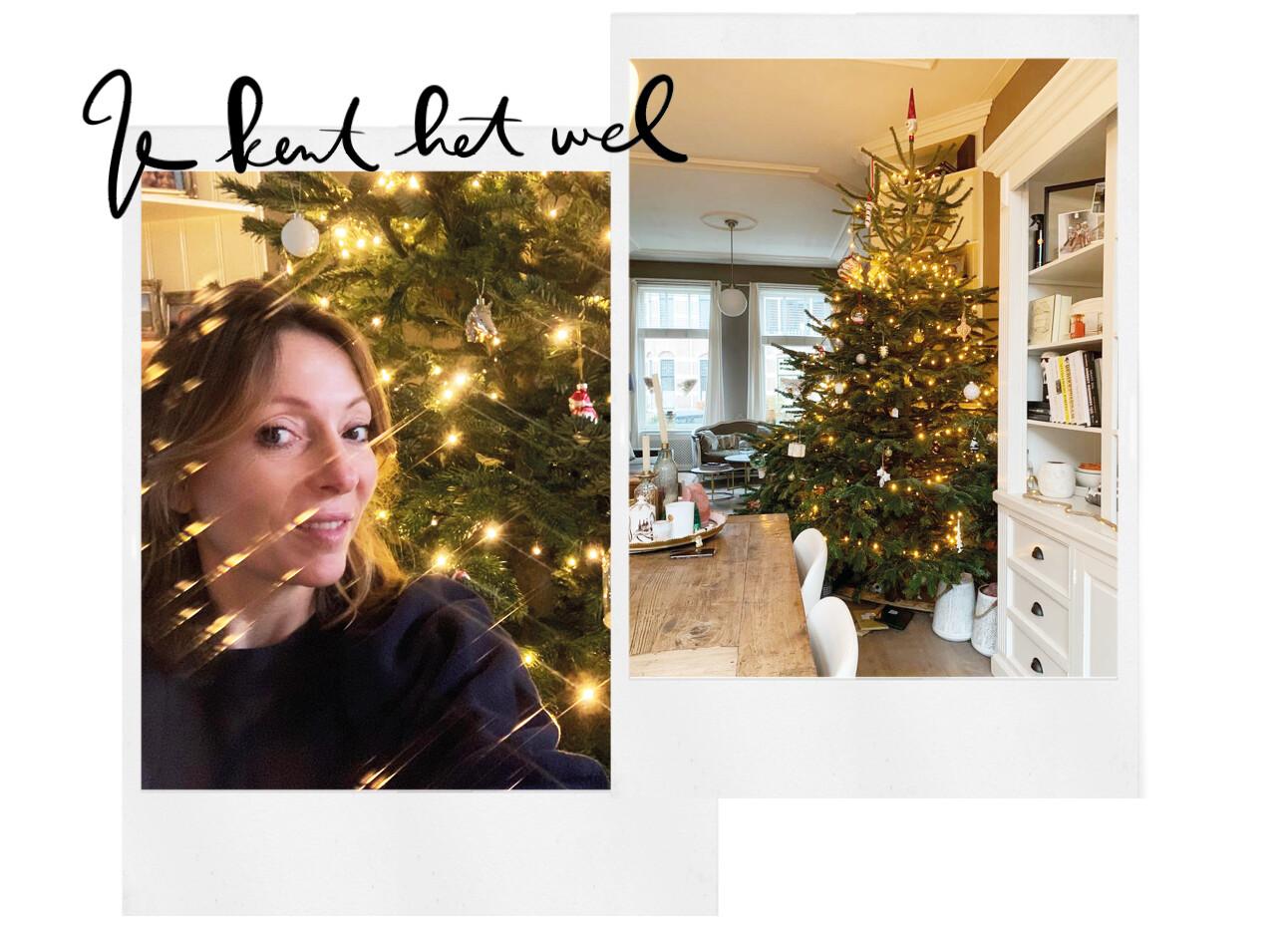 May-britt kerstboom thuis